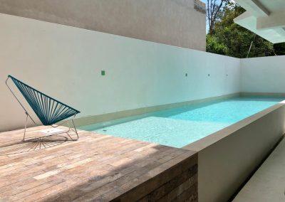 Alberca Quintana Roo Microcemento 9